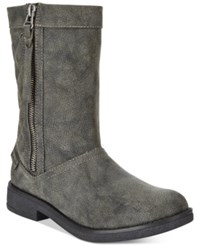 Rocket Dog Tipton Quilted Mid Shaft Boots Women's Shoes Black Galaxy