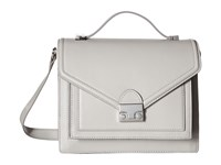 Loeffler Randall Medium Rider Dove Grey Handbags Gray