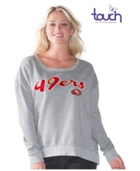 G3 Sports Women's San Francisco 49Ers Embrace Sweatshirt Gray