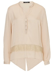Betty Barclay Satin Blouse Light Almont