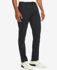 Kenneth Cole New York Men's Slim Fit Pants Indigo Combo