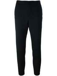 Dsquared2 Side Buckle Trousers Black
