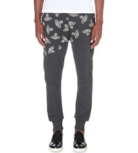 Anglomania Time Machine Jersey Jogging Bottoms Black