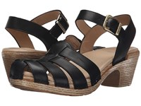 Dansko Milly Black Full Grain Women's Sandals