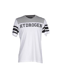 Hydrogen Topwear T Shirts Men Dark Blue