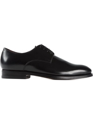 Canali Classic Derby Shoes Black