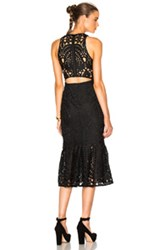 Lover Harmony Cut Out Dress In Black