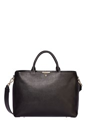 Modalu Bess Large Leather Tote Bag Black