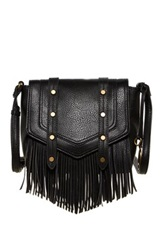 Carlos Santana Riley Flap Crossbody Black