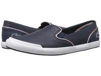 Lacoste Lancelle Slip On 316 1 Navy Women's Shoes