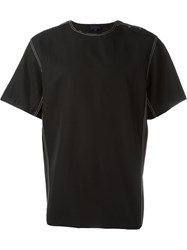 Lanvin Short Sleeve T Shirt Black