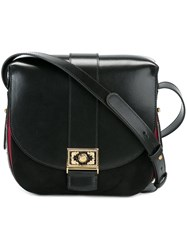 Etro Embellished Detail Cross Body Bag Black