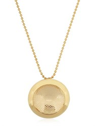 Aygeya Sun Flower Medallion Necklace