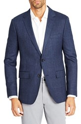 Bonobos Men's Jetsetter Trim Fit Windowpane Stretch Wool Sport Coat
