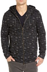 John Varvatos Men's Star Usa Camo Hoodie