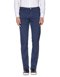 Chiribiri Trousers Casual Trousers Men Blue