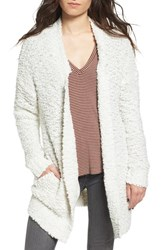 Sun And Shadow Women's Shaggy Knit Cardigan