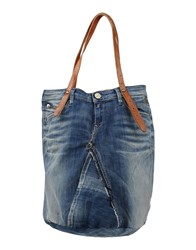 Replay Bags Handbags Women Dark Blue