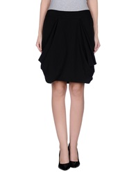 Numph Knee Length Skirts Black