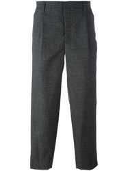 Kolor Tailored Cropped Trousers Grey