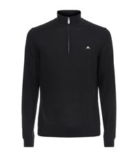 J. Lindeberg J.Lindeberg Kian Tour Merino Sweater Male Black