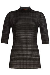 Missoni Knitted Turtleneck With Wool Black