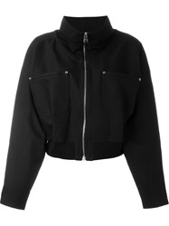 J.W.Anderson J.W. Anderson Stand Up Collar Bomber Black