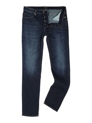 Soulland Lou Collect Slim Fit Mid Wash Jeans Denim Mid Wash