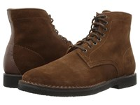 Frye Arden Lace Up Brown Oiled Suede Men's Lace Up Boots