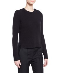 Marc Jacobs Button Shoulder Cashmere Sweater Black