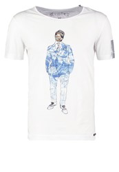 Replay Print Tshirt White