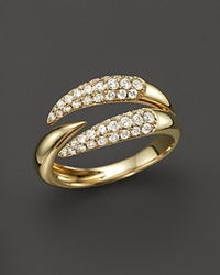 Bloomingdale's Diamond Multirow Claw Ring In 14K Yellow Gold .50 Ct. T.W.