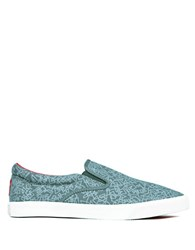 Bucketfeet Momentun Canvas Slip On Sneakers Grey