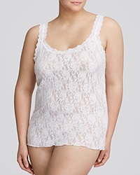 Hanky Panky Plus Signature Lace Unlined Cami White