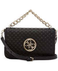 Guess G Lux Crossbody Flap Black