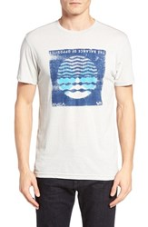 Rvca Men's Radio Waves Graphic T Shirt