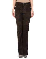 Couture Du Cuir Leatherwear Leather Trousers Women Camel