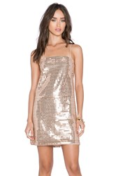 Whitney Eve Escalante Dress Metallic Gold