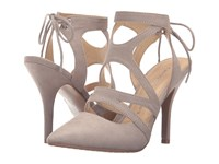 Chinese Laundry Symbol Taupe Micro Suede High Heels