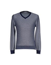 Malo Knitwear Jumpers Men Dark Blue