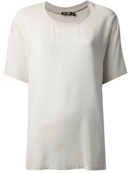 Blk Dnm Loose Fit T Shirt Nude And Neutrals