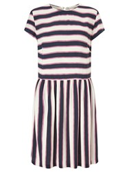 Samsoe And Samsoe Vermund Stripe Dress Breton Bold