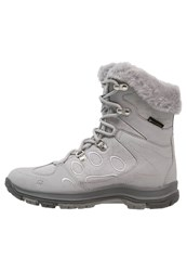 Jack Wolfskin Thunder Bay Texapore Winter Boots Alloy Light Grey