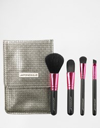 Japonesque Essential Brush Set Brush Set Clear
