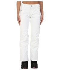 Spyder The Traveler Athletic Fit Pants White Women's Outerwear