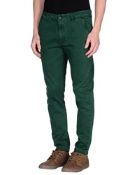 Monocrom Trousers Casual Trousers Men Green