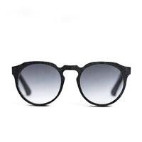 Mosevic Kepler Solid Denim Sunglasses Stone Black Blue