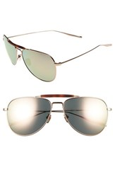 Salt Men's Striker 59Mm Aviator Sunglasses Rose Gold