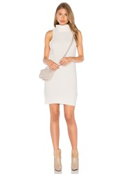 Again Aiden Sweater Dress White