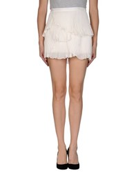 Haute Hippie Skirts Mini Skirts Women
